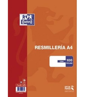 PAPEL A4 100H 90GR LISO OXFORD