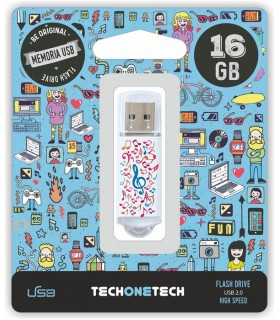 MEMORIA USB 16 GB PENDRIVE MUSIC DREAM