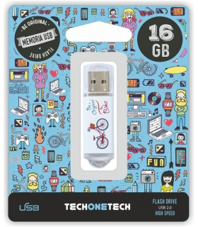 MEMORIA USB 16 GB PENDRIVE BE BIKE